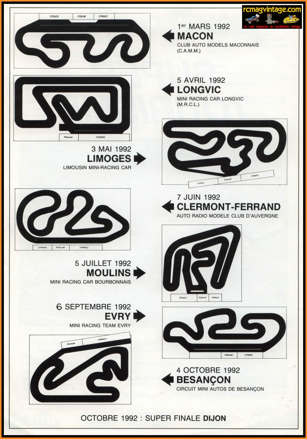 le r u00e8glement du yankee racing show 1992